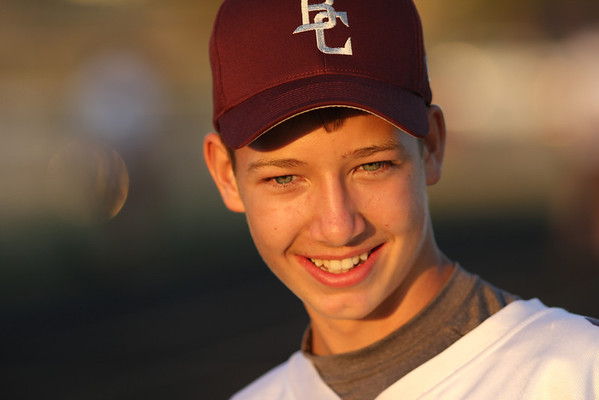 Bokeh and evening light make a great combination: even freshmen can look good!
